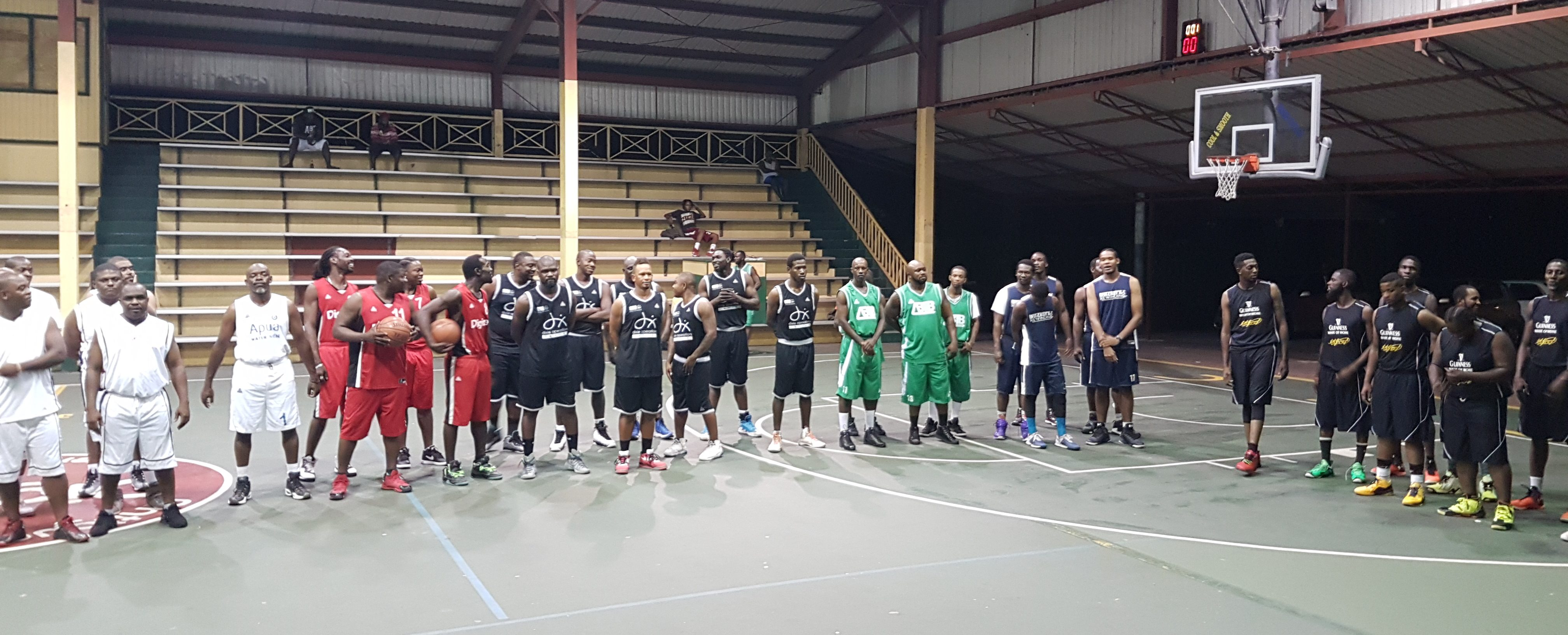 Kennedy's Edge Out Transport Board in Business Basketball League